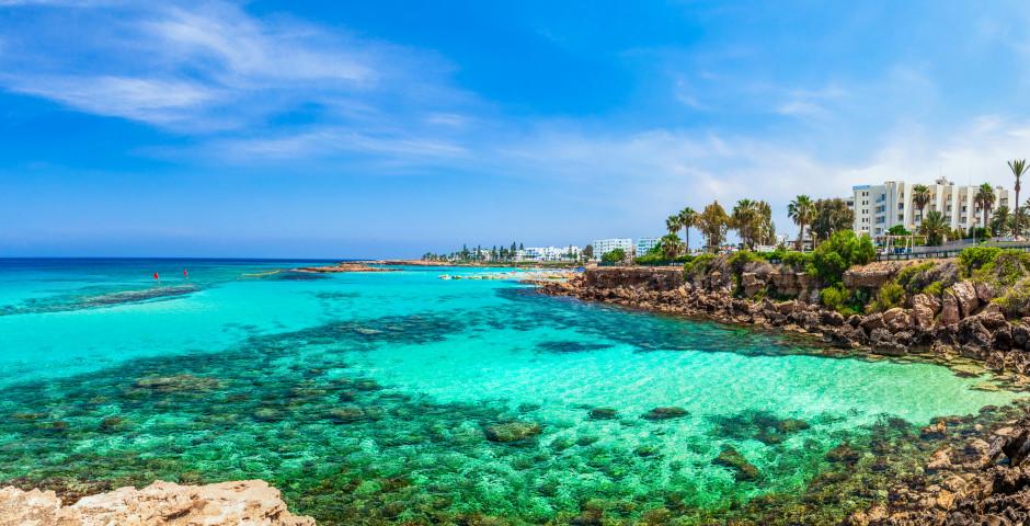 Traumhafter Ausblick auf Protaras und dem Fig Tree Beach - Protaras
