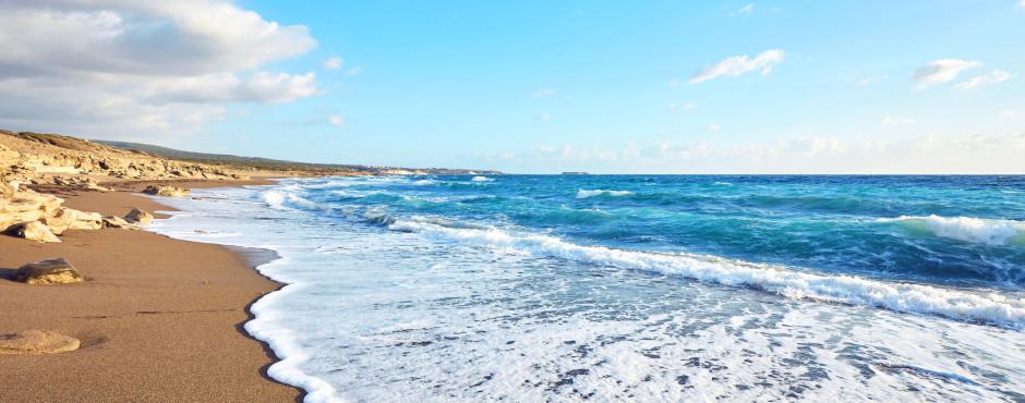 Lara Beach in der Nähe von Paphos