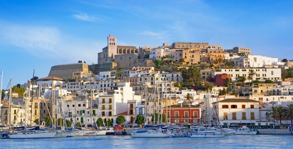Blick auf Ibiza-Stadt - Ibiza-Stadt