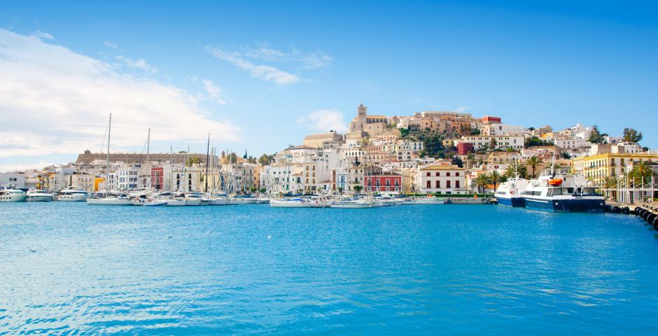 Panoramablick auf Ibiza-Satdt - Ibiza-Stadt