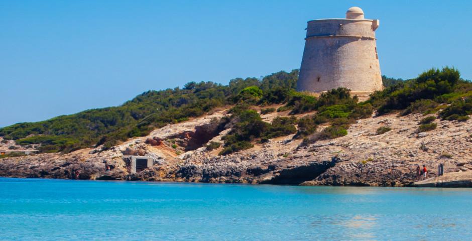 Burgruine in Playa d'en Bossa - Playa d'en Bossa