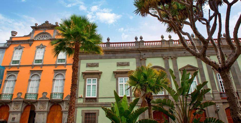 Traditionelle Häuser - Las Palmas de Gran Canaria