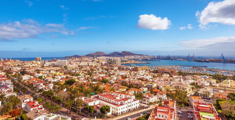 Blick auf den Hafen - Las Palmas de Gran Canaria