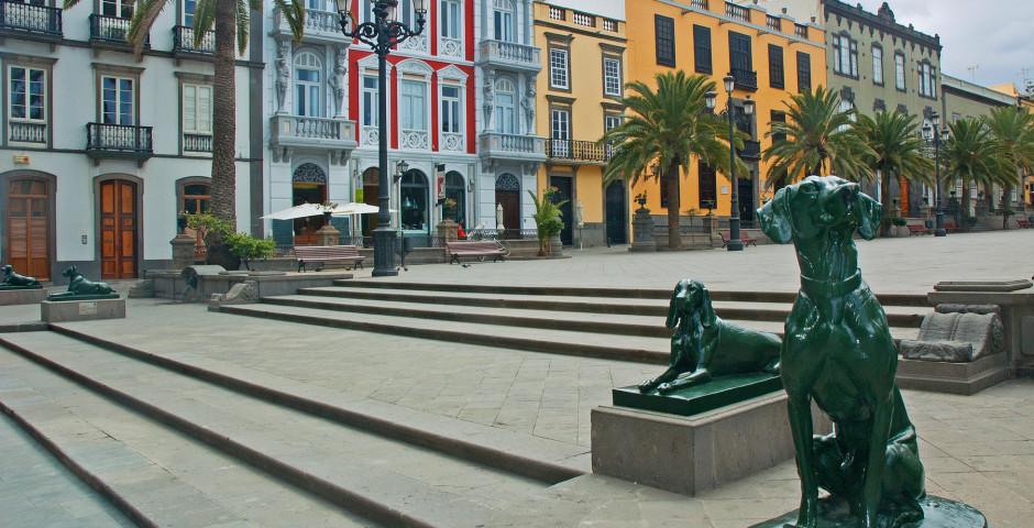 Blick auf die Plaza de Santa Ana - Las Palmas de Gran Canaria