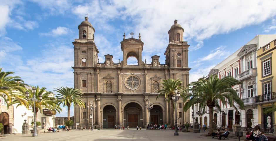 Vue sur la Cathédrale Santa Ana