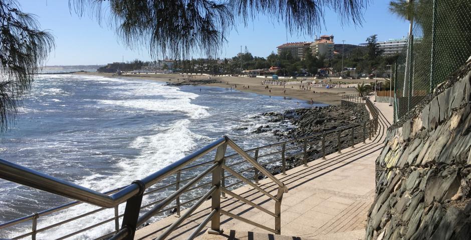 Promenade maritime à San Agustin