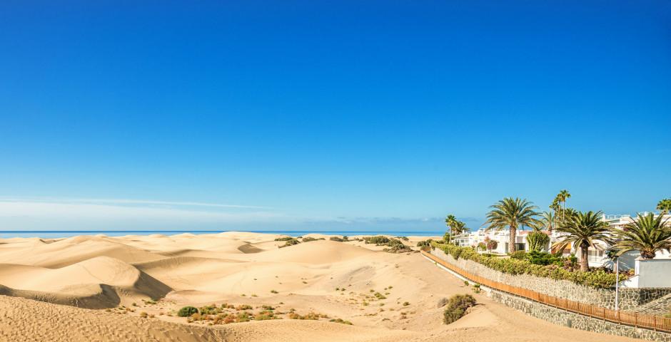 Weg zum Sandstrand Playa de Maspalomas - Maspalomas