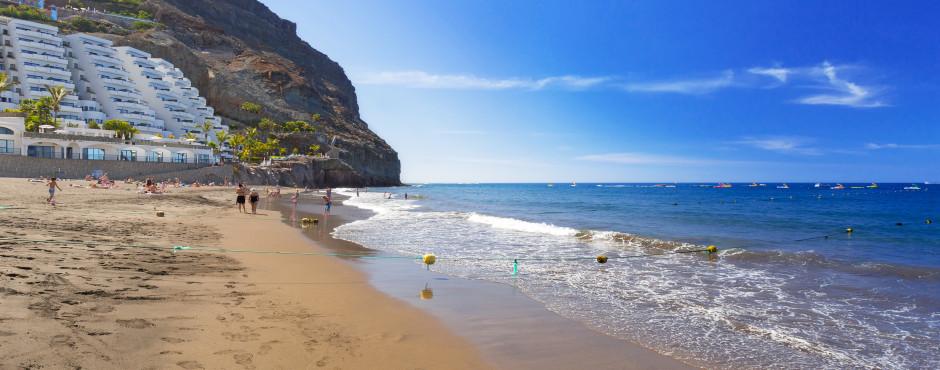 Beliebter Badestrand Playa de Taurito