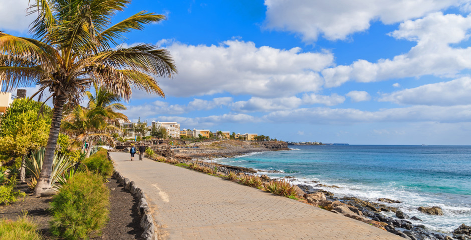 Promenade von Playa Blanca - Playa Blanca