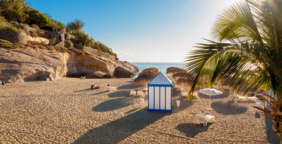 Belle plage de sable Playa del Duque à Costa Adeje - Costa Adeje