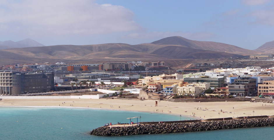 Panoramasicht auf Puerto del Rosario - Puerto del Rosario
