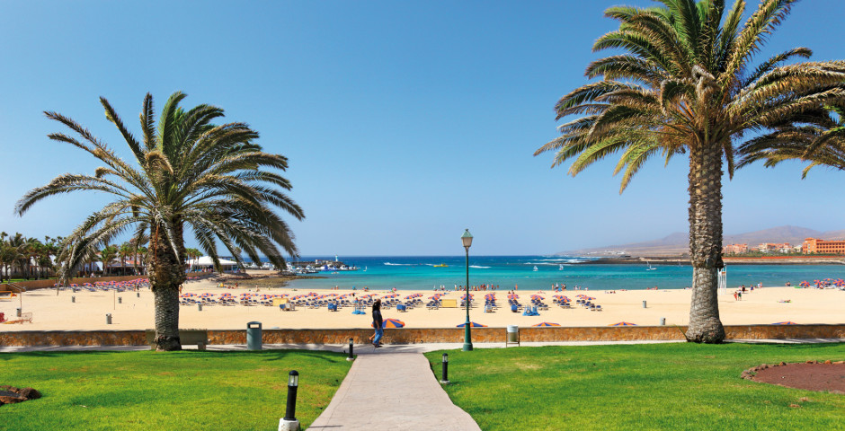 Blick auf den Strand von Caleta de Fuste - Caleta de Fuste