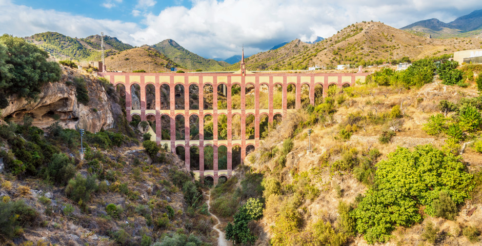 Aquädukt von Nerja - Nerja