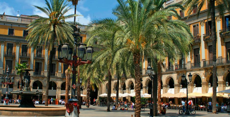 Königlich in Barcelona, Plaça Reial - Barcelona