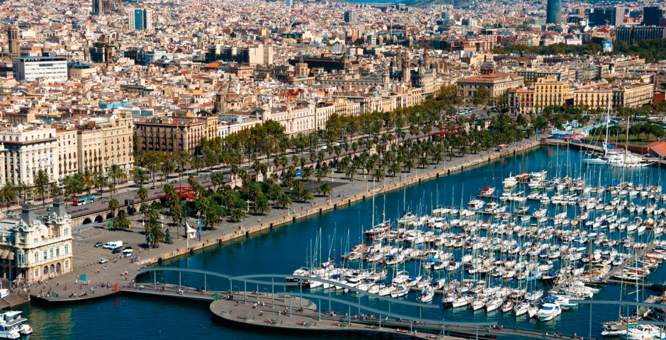 Kapitän sein in Barcelona, Port Olimpic - Barcelona