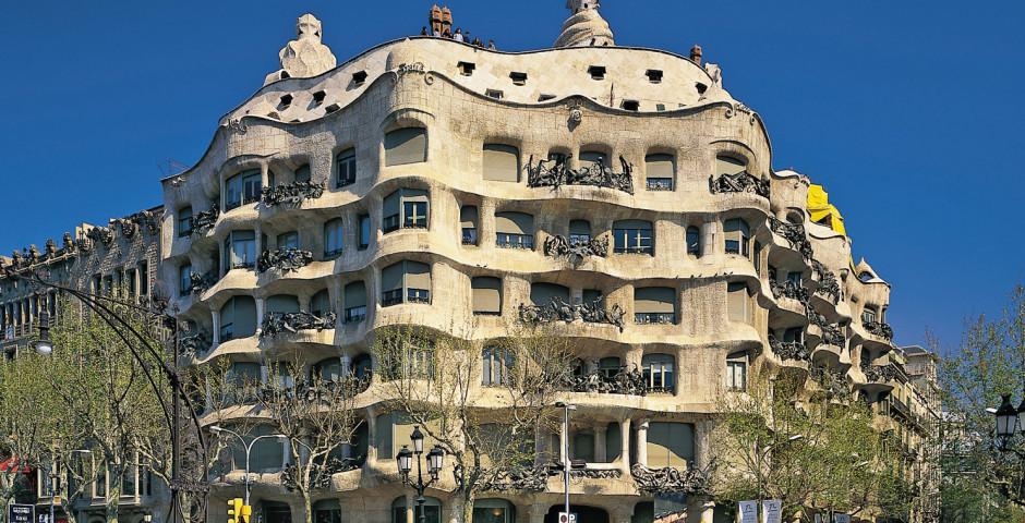 Kultur geniessen in Barcelona, Casa Mila von Gaudi - Barcelona