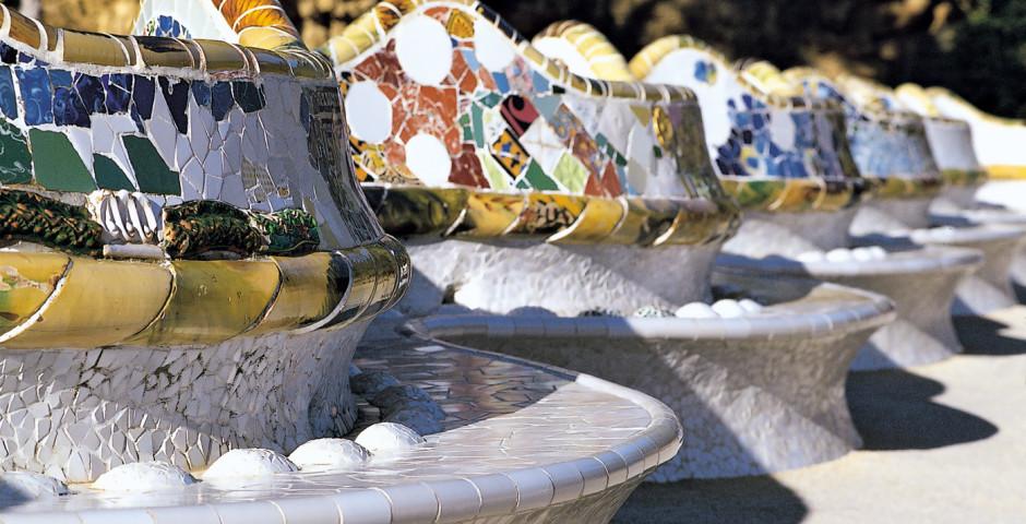 Die Seele baumeln lassen in Barcelona, Gaudi, Parc Güell, - Barcelona