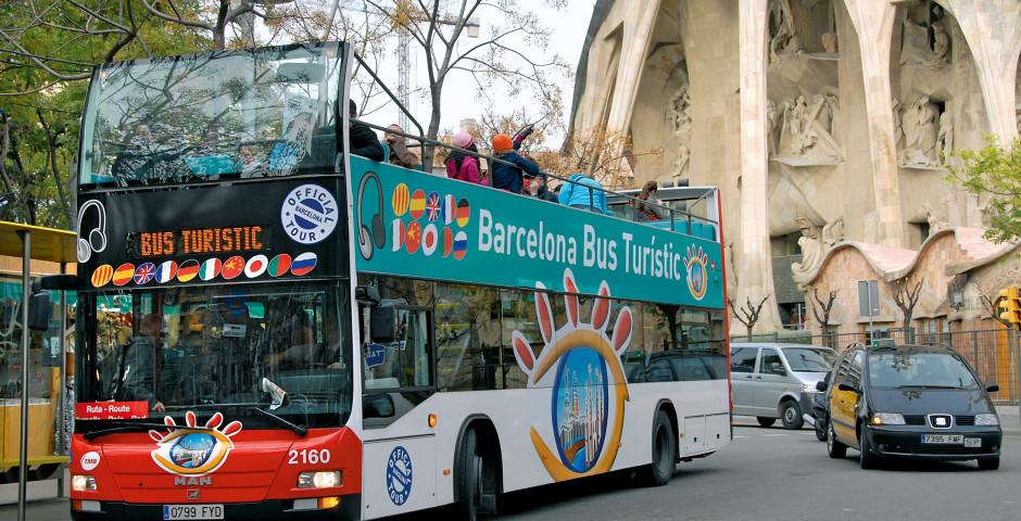 Entdeckungen in Barcelona, Hop on Hop off Bus - Barcelona