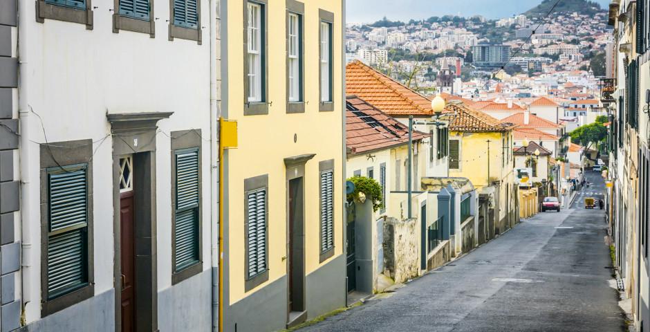 Historische Altstadt - Funchal / Monte