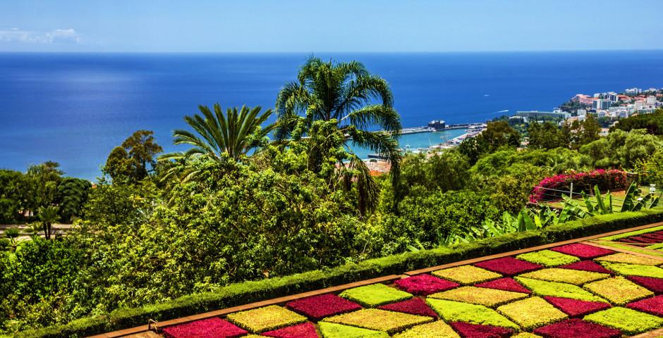 Botanischer Garten in Monte - Funchal / Monte