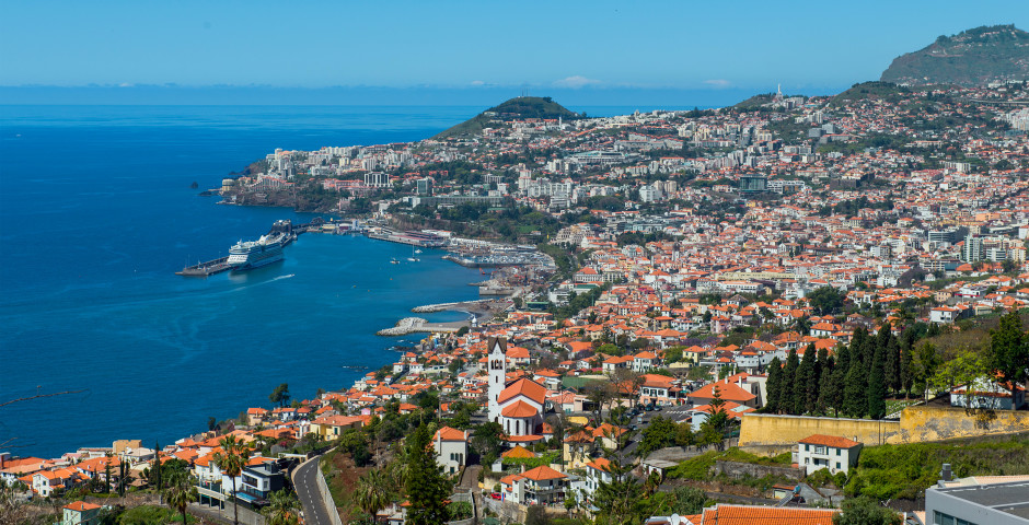 Panoramablick auf Funchal - Funchal / Monte