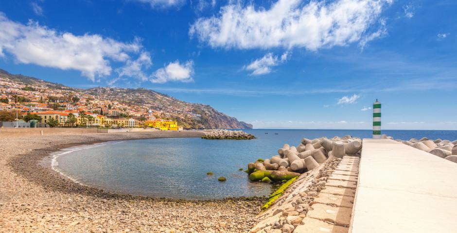 Strand von Funchal - Funchal / Monte