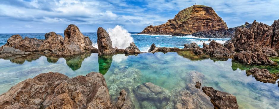 Natürlicher Lava-Pool