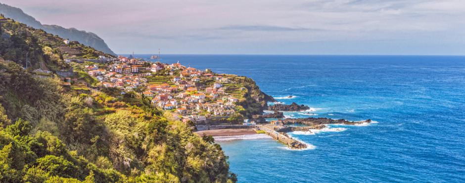 Côte près de São Vicente