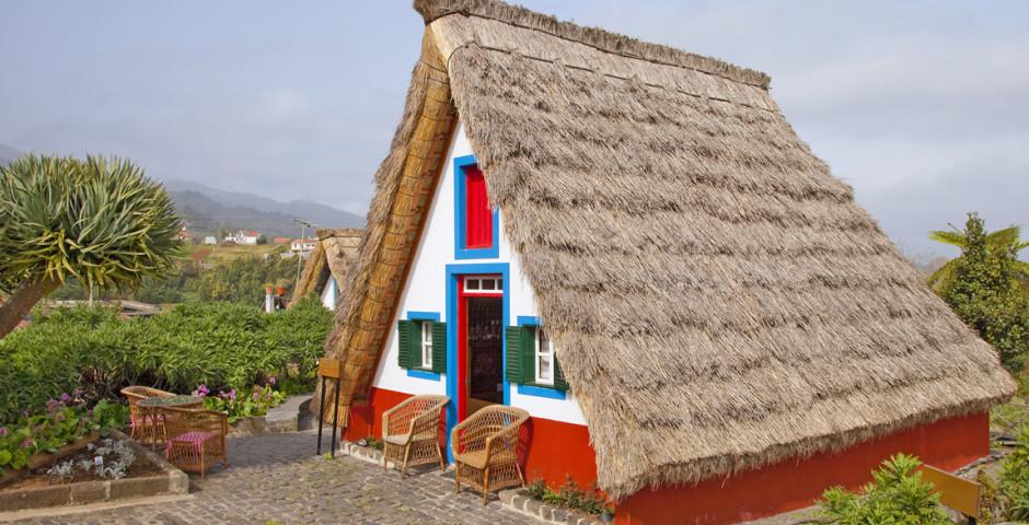Typisches Madeira-Häuschen - Santana