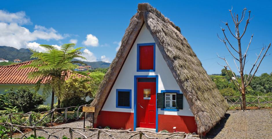 Traditionelles Haus in Santana
