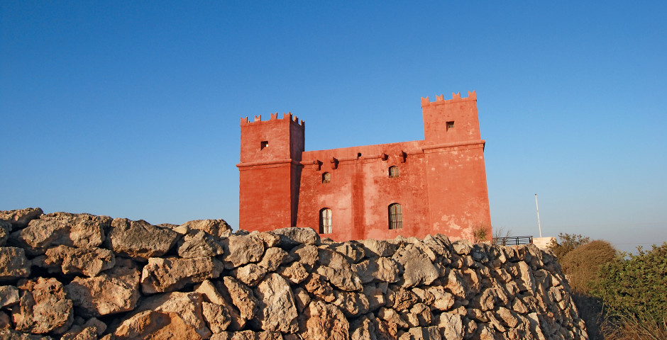 Red Tower - Marfa Bay