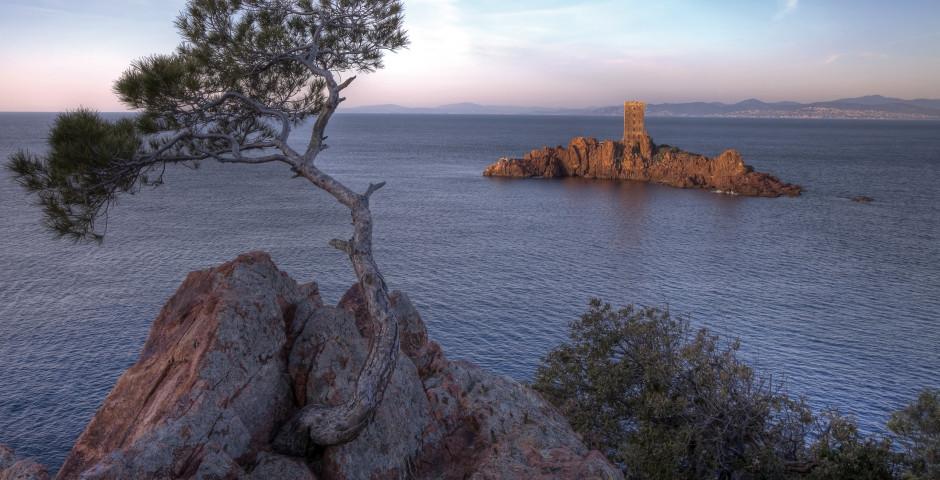 Goldene Insel (L'île d'Or) - Cap Esterel
