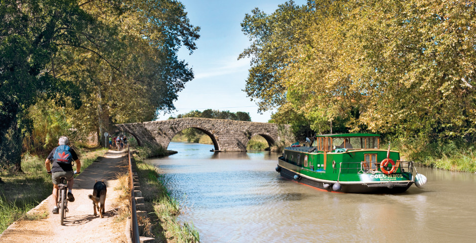 Homps / Canal du Midi