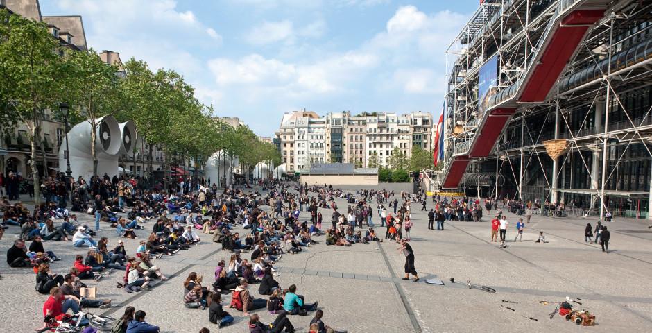 Paris, Centre Pompidou, Marais - Gare de Lyon / Bastille