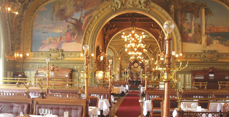 Paris, Gare de Lyon, Restaurant Le Train Bleu - Gare de Lyon / Bastille