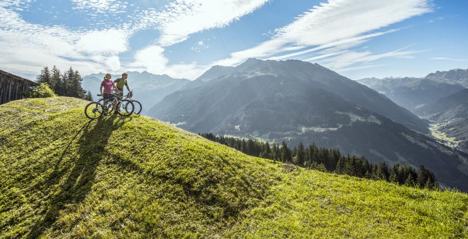 Mountainbiken am Bartholomäberg - Schruns Bartholomäberg