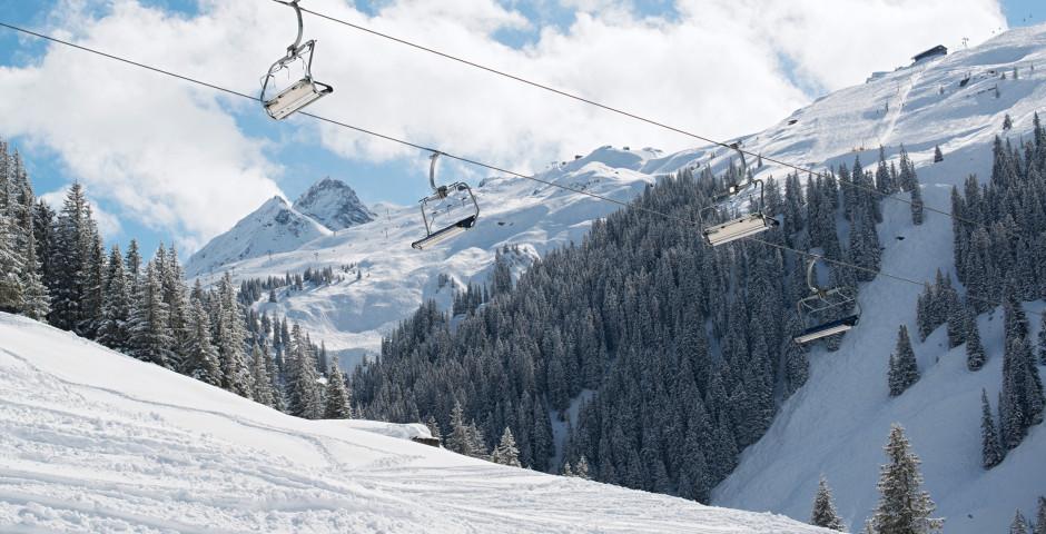 Skifahren in Schruns