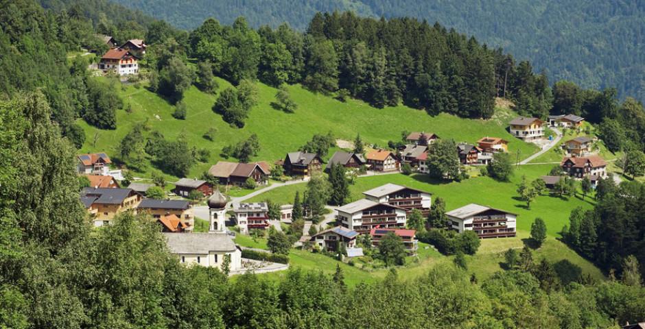 Bürserberg im Sommer - Bürserberg
