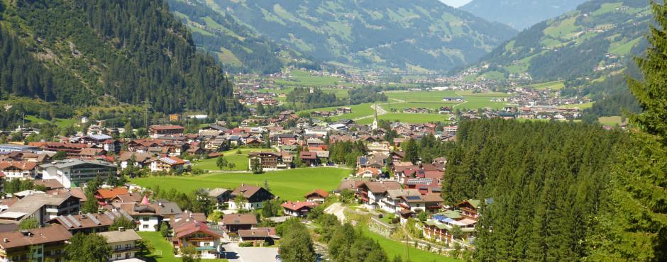Mayrhofen im Sommer