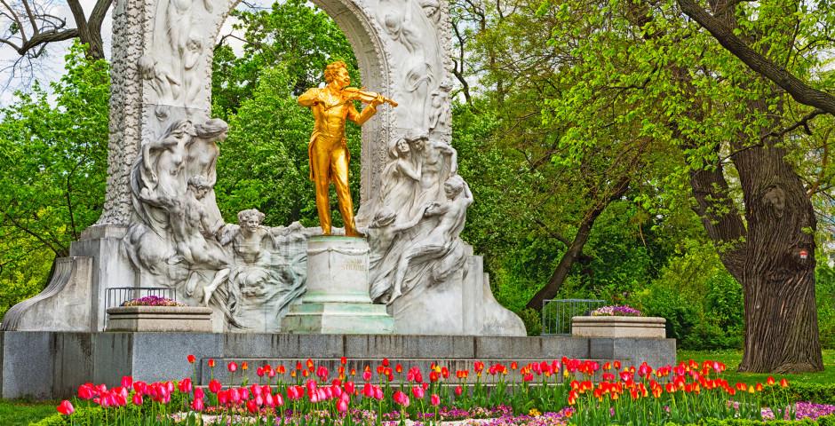 Johann Strauss, Stadtpark - Wien