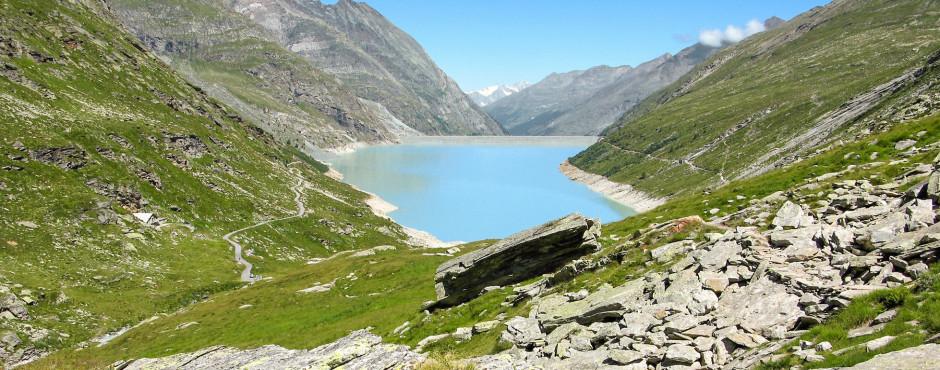 Mattmark Reservoir