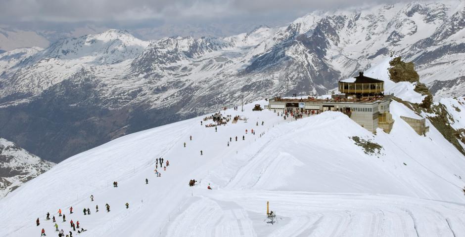 Ski à Saas Fee