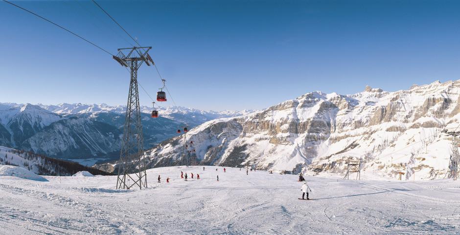 Skiferien im Skigebiet Leukerbad - Leukerbad