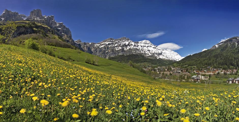 Paysage d'été © Leukerbad Tourismus - Loèche-les-Bains