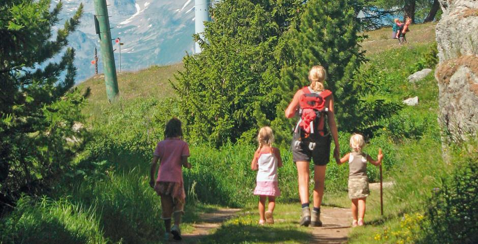Wandern in Veysonnaz - Veysonnaz