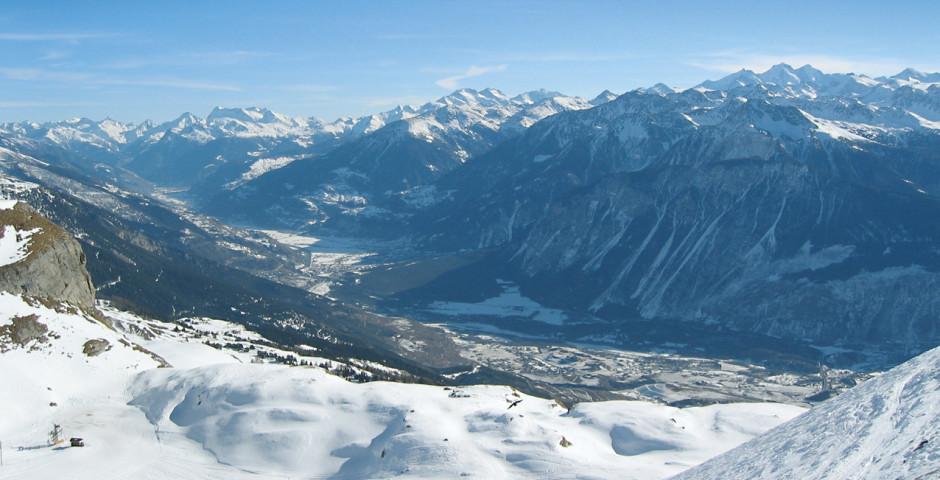 Aussichtspunkt in Crans-Montana - Crans-Montana