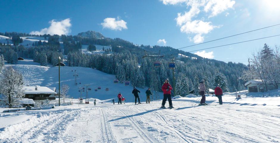 Vacances de neige à Schönried