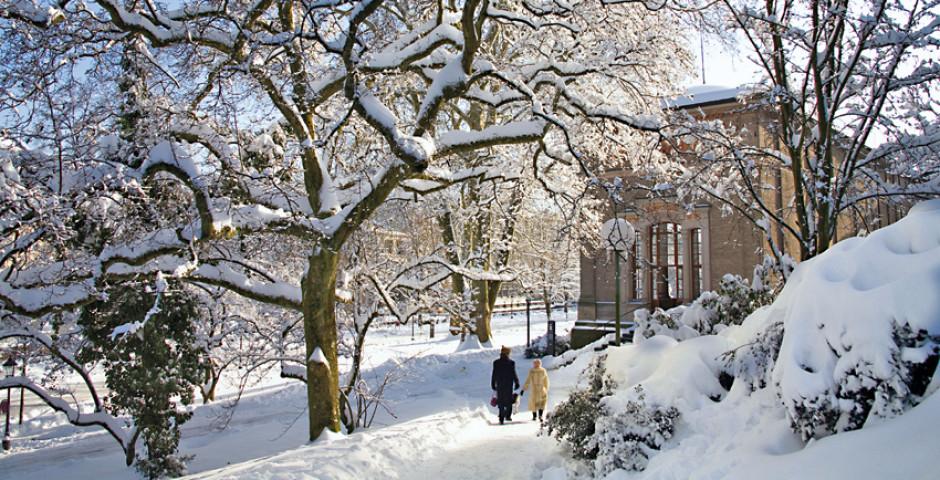 Baden-Baden im Winter © Baden-Baden Kur & Tourismus GmbH