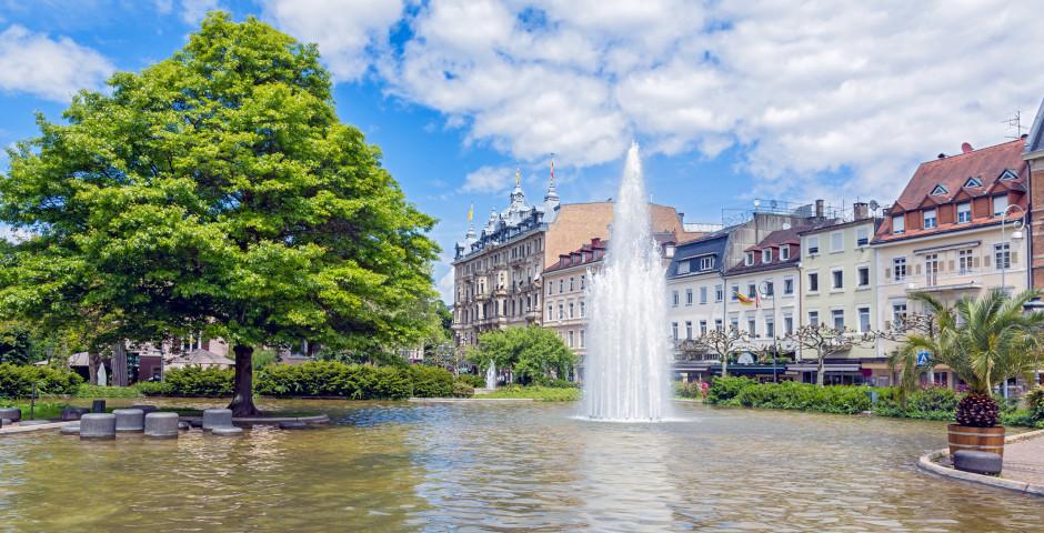 Stadtzentrum von Baden-Baden
