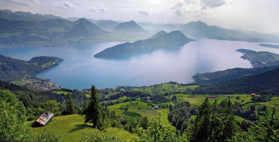 Blick auf den Vierwaldstättersee © Luzern Tourismus - Weggis